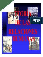 Teoria_Relaciones_Humanas_Gerencia UN II ADSS