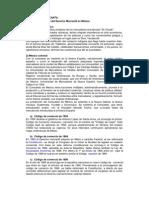 Antecedentes del Derecho Mercantil en México