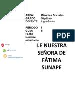 Guia sociales septimo EUROPA 2021 Periodo I -