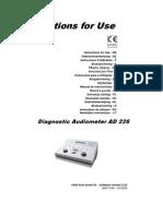 Audiometro AD226