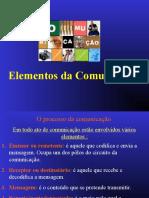 ELEMENTOS DA COMUNICACAO