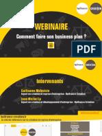 Webinaire Support de Presentation Business PlanVF