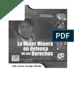La Mujer Minera en Defensa de Sus Derechos 2005-2006