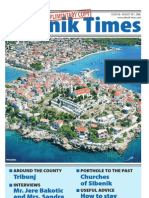 The Sibenik Times, August 30th