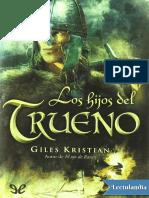 Los Hijos Del Trueno - Giles Kristian