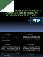 Innovar Aprendizaje Historico Entorno Virtual
