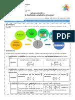 Clase 22 Amplificacion y Simplificacion de Fracciones 5 Basico AC-convertido