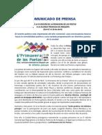 Nota de Prensa PDP 11