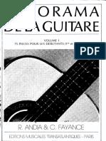 Andia&Fayance - Panorama de la Guitare 1