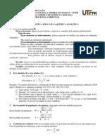 Apostila de Estatistica Aplicada a Quimica