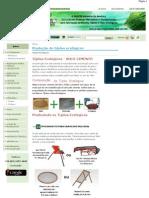 Produção de tijolos ecológicos _ Eco Máquinas