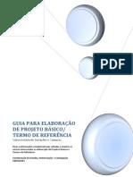 Guia Para Elaboração de Projeto Basico e TR