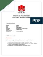 INFORME DE INVESTIGACIÓN UVM