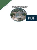 PLAN DE GESTION DEL RIESGO DE DESASTRES Y