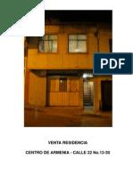 Venta Casa - Flia Vargas