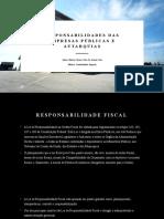 Responsabilidades Das Empresas Públicas e Autarquias