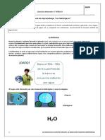 Cs. Naturales 5°Básico Guía de Aprendizaje n°1, La Hidrosfera.