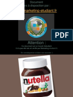 Etude Marketing Cas Nutella