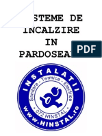 Prezentare Incalzire prin Pardoseli - PFA PHV