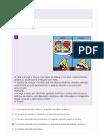 Exercícios de Formação Geral - Atividade n° 1
