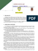 Torneio Olímpico Jovem 2011 - Regulamento da fase distrital de Portalegre