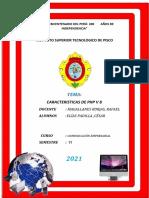 princuoales caracteristicas php v8