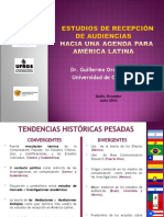 Retos de Estudios de Recepcion en America Latina - por Guillermo Orozco