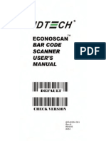 ID-Tech Barcode Scanner