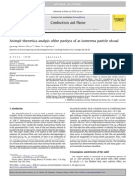 chern - 2010 - A simple theoretical analysis of the pyrolysis of an isothermal particle of coal