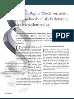Human Rights Watch verurteilt Kopftuchverbote als Verletzung der Menschenrechte