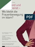 Ehrenmord und Zwangsheirat - Wo bleibt die Frauenbewegung im Islam?