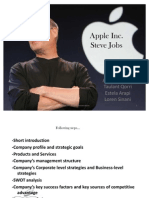 steve jobs 5 paragraphs Pirates of silicon valley is an original 1999 american made for television biographical drama film, directed by martyn burke and starring noah wyle as steve jobs and.