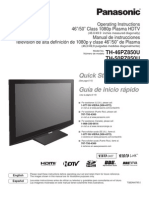 Panasonic - TH46PZ850U