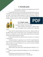Margarina - tehnologia de fabricare
