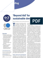 beyond aid for development