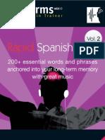earworms rapid spanish volume 2
