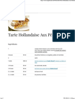 Eagle Brand®   Tarte Hollandaise Aux Pêches
