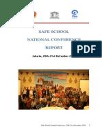 Final Report Safe Schools Conference Indonesia Jakarta Dec 2010