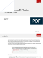 CFO - ERP Solution Comparison Guide