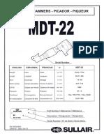 Despiece y Numero de Parte MDT-22