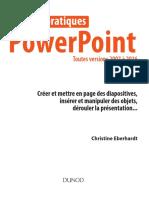 PowerPoint. Travaux pratiques. Toutes versions 2007 à 2016 et Office 365