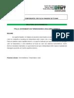 Modelo de relatório de práticas