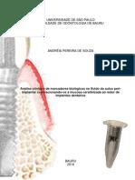 Análise CXlinica e de Marcadores Biológicos No Fluido Do Sulco Periimplantar