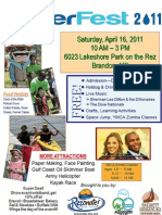 WaterFest 2011 Flyer