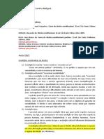 Constitucional II - Plínio - caderno