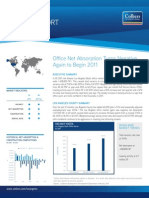 Los Angeles Area Office Market Reports 1Q 2011