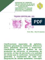 2) Tejido Epitelial II - Prof Vita Calzolaio