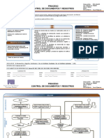 Proceso de Control Documentos