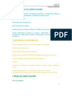 TRT-RJ-2011-Programa de conhecimentos específicos (sumário)