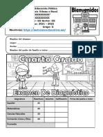 ExamenDiagnostico4toGrado21-22MEX